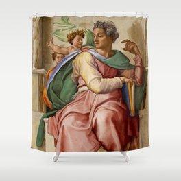 "Michelangelo ""Prophet Isaiah"" Shower Curtain"