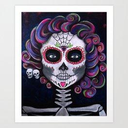 Sugar Skull Candy 2 Art Print