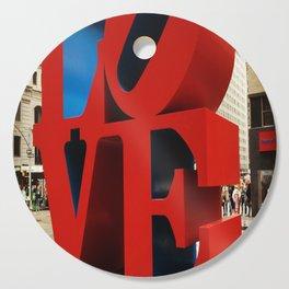 Love Sculpture - NYC Cutting Board