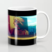 obey Mugs featuring obey. by myfamouslastwords