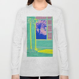 Sundown in the Long and Empty Hallway Long Sleeve T-shirt