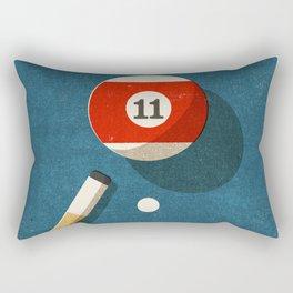 BILLIARDS / Ball 11 Rectangular Pillow