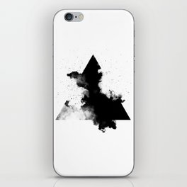 PLACE Triangle Smoke iPhone Skin