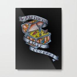 WSU TREASURE Metal Print