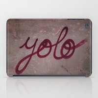 yolo iPad Cases featuring Yolo by HMS James