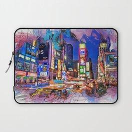 New York Panorama Laptop Sleeve
