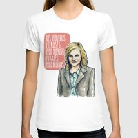 leslie knope T-shirts featuring Leslie Knope by Tiffany Willis