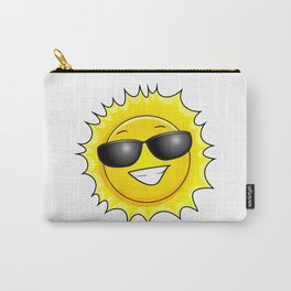 sunglasses on Carry-All Pouch