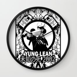 Yung Lean - Stackin it Wall Clock