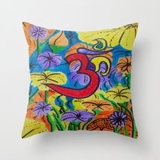 NAMASTE-2 Throw Pillow