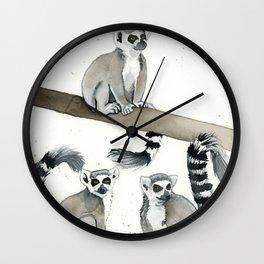 The Lemurs Wall Clock