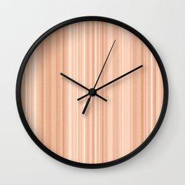 Cedar Wood Texture Wall Clock
