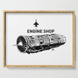 ENGINE SHOP - F16 Serving Tray