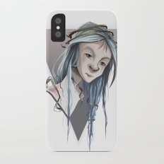 Sorrow iPhone X Slim Case