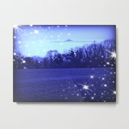 Starlit Avalon Metal Print