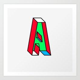 Impossible A Art Print