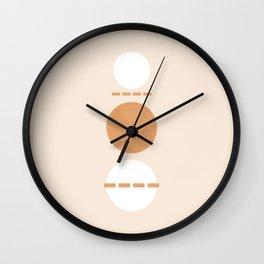 #15 Symmetrical balance Wall Clock