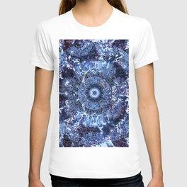 Iris Mandala Blue T-shirt