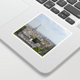 Views of Paris Sticker