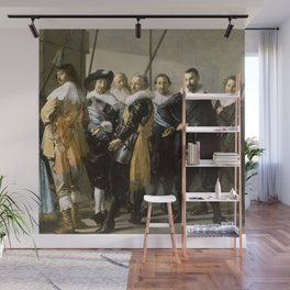 "Franz Hals ""Militia Company of District XI also known as 'The Meagre Company'"" Wall Mural"
