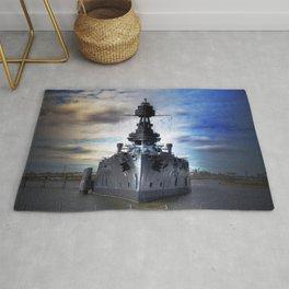 Battleship USS Texas  Rug