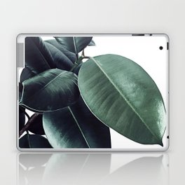 Ficus Elastica #18 #White #foliage #decor #art #society6 Laptop & iPad Skin