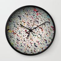 bats Wall Clocks featuring Bats by Cody Weber