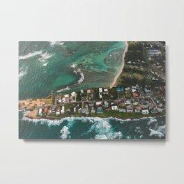 Ocean Front Hawaii Metal Print