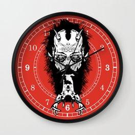 bearded deer Wall Clock
