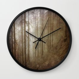 Into the Wild Wall Clock