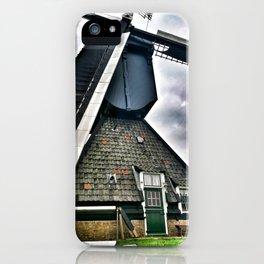 Kinderdijk Windmill The Netherlands iPhone Case
