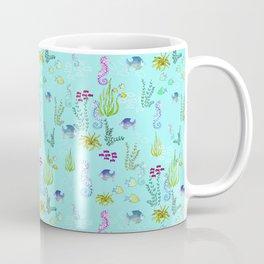 Seahorse Botanical Coffee Mug