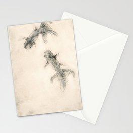 Lionhead Fish Stationery Cards