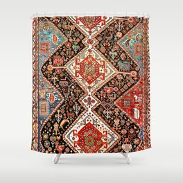 Qashqa'i Fars Southwest Persian Rug Shower Curtain