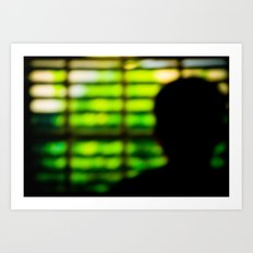 Self-Imposed Captivity Art Print
