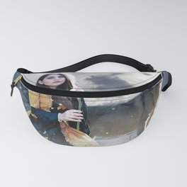 Gothic Princess & Wolf Fanny Pack