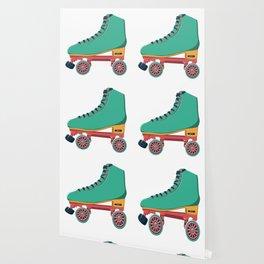 old school roller skate Wallpaper