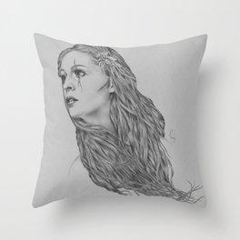 Last hope - Digital painting Throw Pillow
