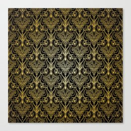 Lace elegant vintage pattern Canvas Print
