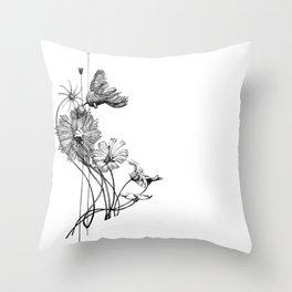 Chord of Crinoids Throw Pillow