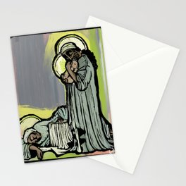 Holy Family, Mary sleeping Stationery Cards