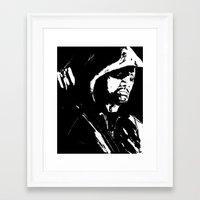 green arrow Framed Art Prints featuring Arrow by Seth House