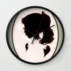 La Boudeuse Wall Clock