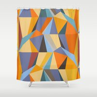 metropolis Shower Curtains featuring Metropolis by Norman Duenas