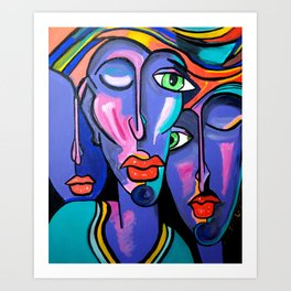 PICASSO BY NORA Art Print