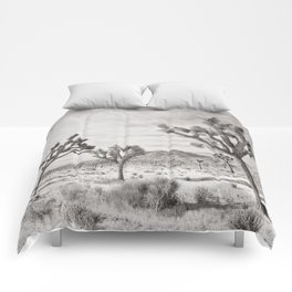 Joshua Tree Grey By CREYES Comforters