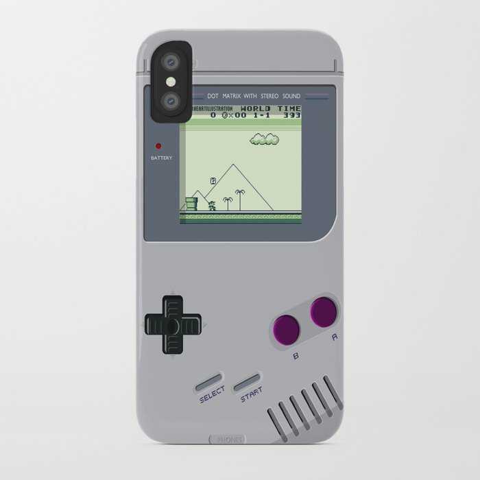 cheap for discount ad7aa aa35b OLD GOOD GAMEBOY iPhone Case by paperheartillustration
