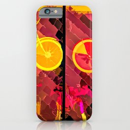 Candy Bicycles For A Sweet Ride iPhone Case