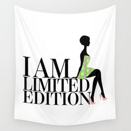 I Am Limited Edition Wall Tapestry