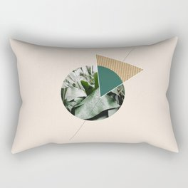Tropical & Geometry Rectangular Pillow
